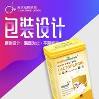 包装设计 食品包装 大米茶叶医药农餐饮产品包装 包装盒瓶贴