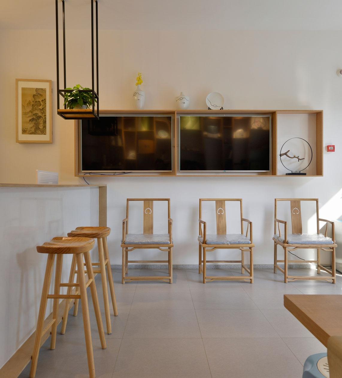 美容养身艾灸馆健康体验会所中心芳疗场馆设计空间设计装修装饰