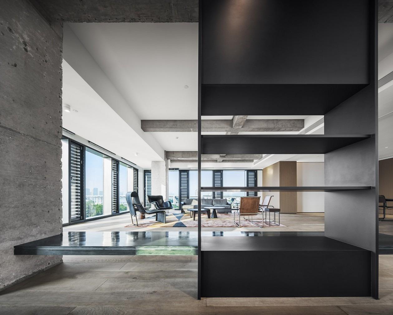 众创办公空间联合办公social空间装饰装修软装搭配效果设计