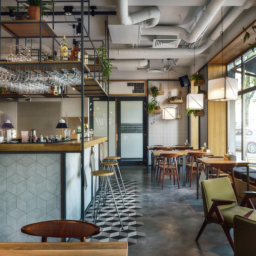 面包店设计装饰装修室内方案设计精装空间装饰连锁店空间设计服务