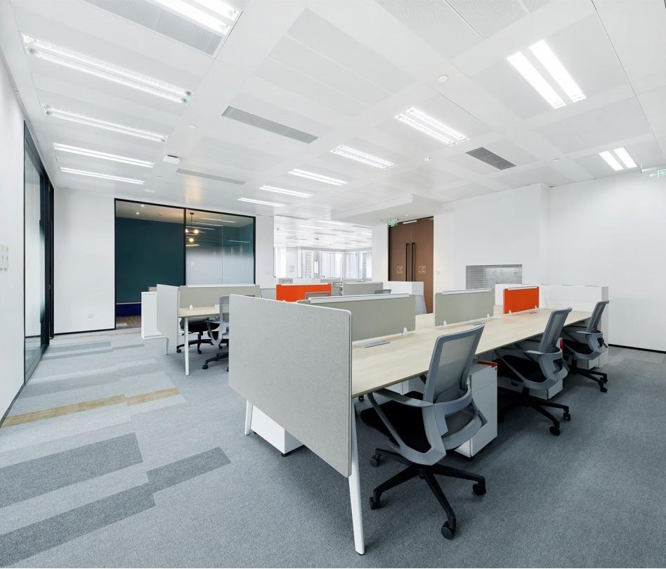 IT行业电商办公楼写字楼集团总部办公室设计总经理室装修设计