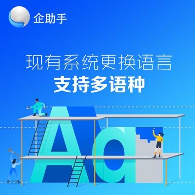 系统程序网站更改语言语种英语藏语日语地方语外语法语多语种切换