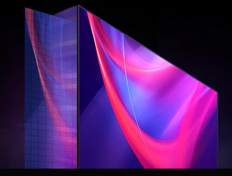 激光电视屏幕框架设计