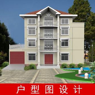 自建房 民宅 户型图  一楼平面布局图