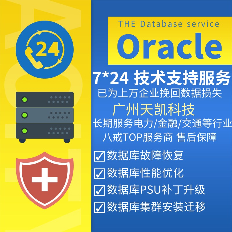 Oracle数据库故障修复优化 双机集群安装 数据备份容灾