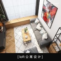 loft公寓设计室内设计新房设计家装效果图设计自建房设计