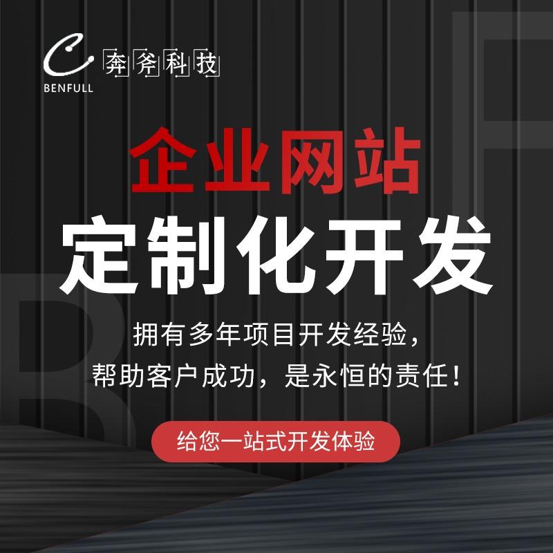 定制开发模板 网站建设 官网制作 企业网站 网页设计手机仿站