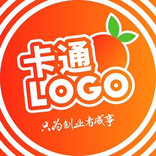 【原创卡通LOGO】餐饮卡通logo设计 IP吉祥物设计