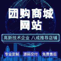 社区团购/拼团/抢购/优惠券/分销/返佣网站建设制作开发设计