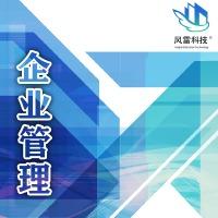 企业管理系统erp 资产管理软件定制开发 客户管理 风雷科技