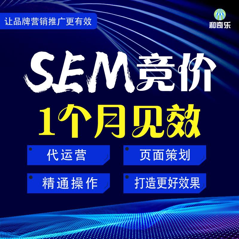 SEM网站竞价代运营百度360搜狗神马谷歌优化开户搜索推广