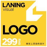 兰灵视觉logo设计标志商标卡通字体图标公司品牌店铺取名设计