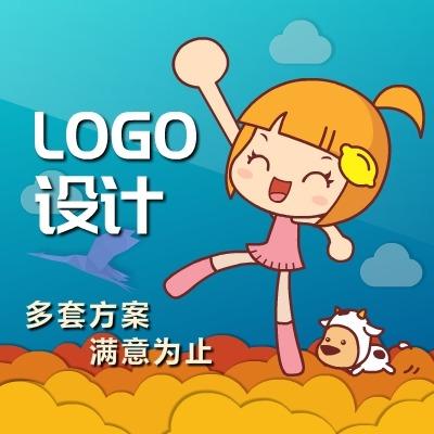 企业LOGO设计标志文字图形字母英文LOGO卡通LOGO设计