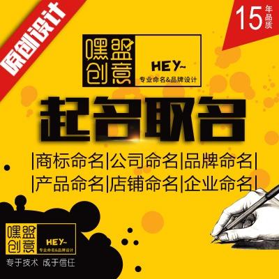 品牌产品餐饮公司生鲜电商贸易电子美容医疗店铺商标起名