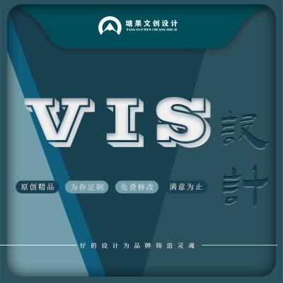高端 VI设计 视觉导视企业形象 设计 全套 VI S品牌升级 设计