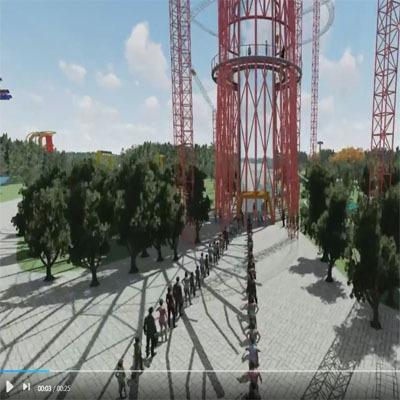 动画制作 建筑展示视频  效果图视频  多方位展示