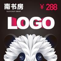 商标logo设计标志公司图文企业餐饮卡通Logo设计可注册