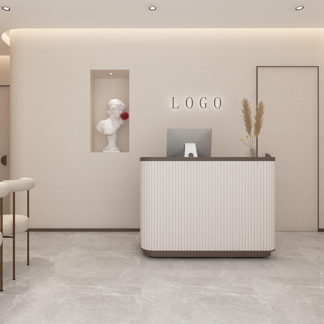 美容院养生馆设计形象店整形美容室内装修设计空间美甲美妆化妆品