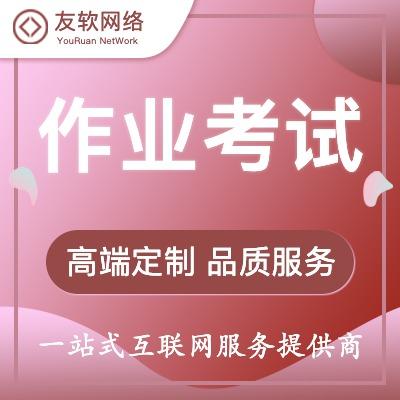 作业考试 手机网站 建站设计制作开发门户 网站 开发响应式 网站 开发
