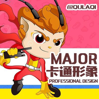 《特惠》2D3D企业卡通形象IP设计/公司吉祥物设计