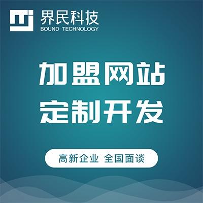 代理加盟网站建设 代理招商网站开发 多类型网站设计定制开发