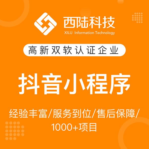 上海抖音小程序定制/支付宝小程序/微信小游戏/高端定制开发