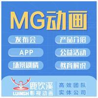 MG动画急速出稿私人定制卡通二维北京上海APP宣传发布会