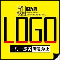 企业logo家居电子标志设计卡通手绘形象logo图形文字设计