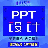 高端原创 PPT 设计制作汇报路演招商 PPT 美化模板定制优化设计