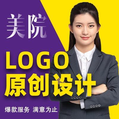 健身行业logo设计原创商标包装品牌公司企业VI卡通图标志