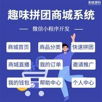 微信 小程序 /趣味拼团商城系统源码/商城首页/商品分类