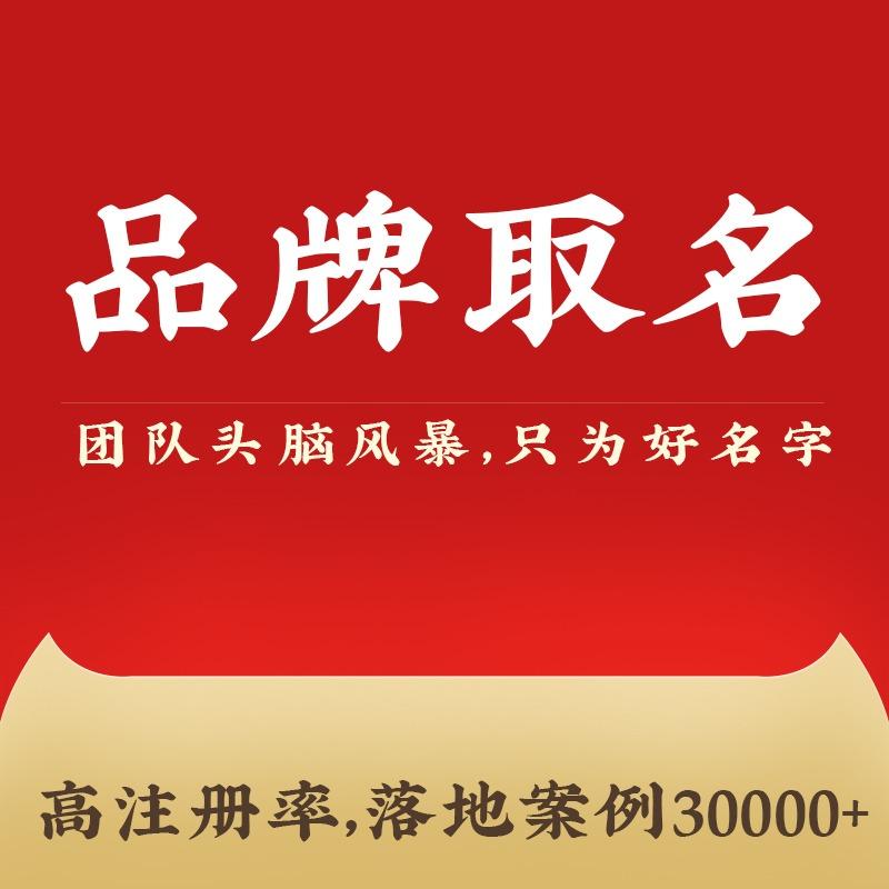 品牌命名企业公司取名l网站店铺产品LOGO设计商标起名取名字