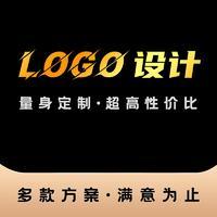 公司logo设计图文原创标志VI包装卡通形象画册起名商标设计