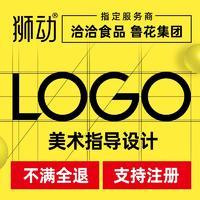 企业公司品牌 logo 设计图文眼镜标志农业 LOGO 商标设计
