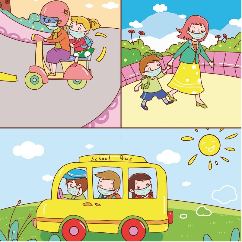 儿童插画设计-儿插绘本童书-教育书籍手册-幼儿启蒙插画美术