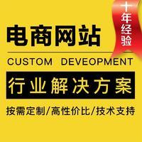 电商网站开发电商行业解决方案商城制作