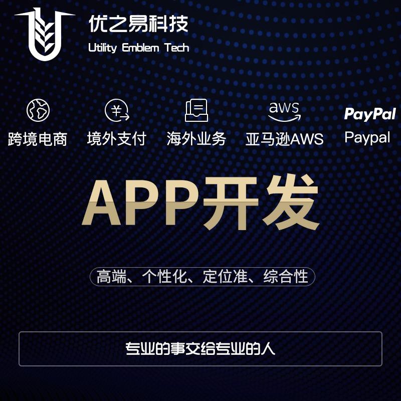 【APP定制开发】跨境电商、境外支付、海外业务、亚马逊AWS