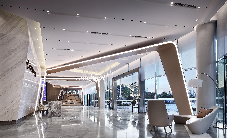 公装设计售楼部装修设计公装效果图公装施工图办公室设计