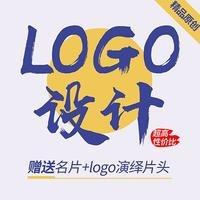 【主管】企业餐饮卡通LOGO设计商标标志设计动态公司logo