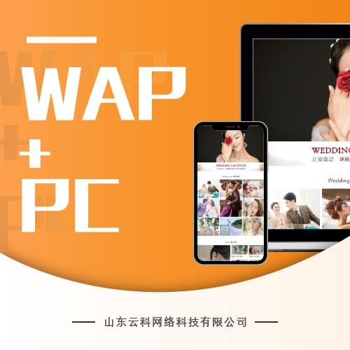 【普通企业站】普通企业网站/WAP+PC/公司网站