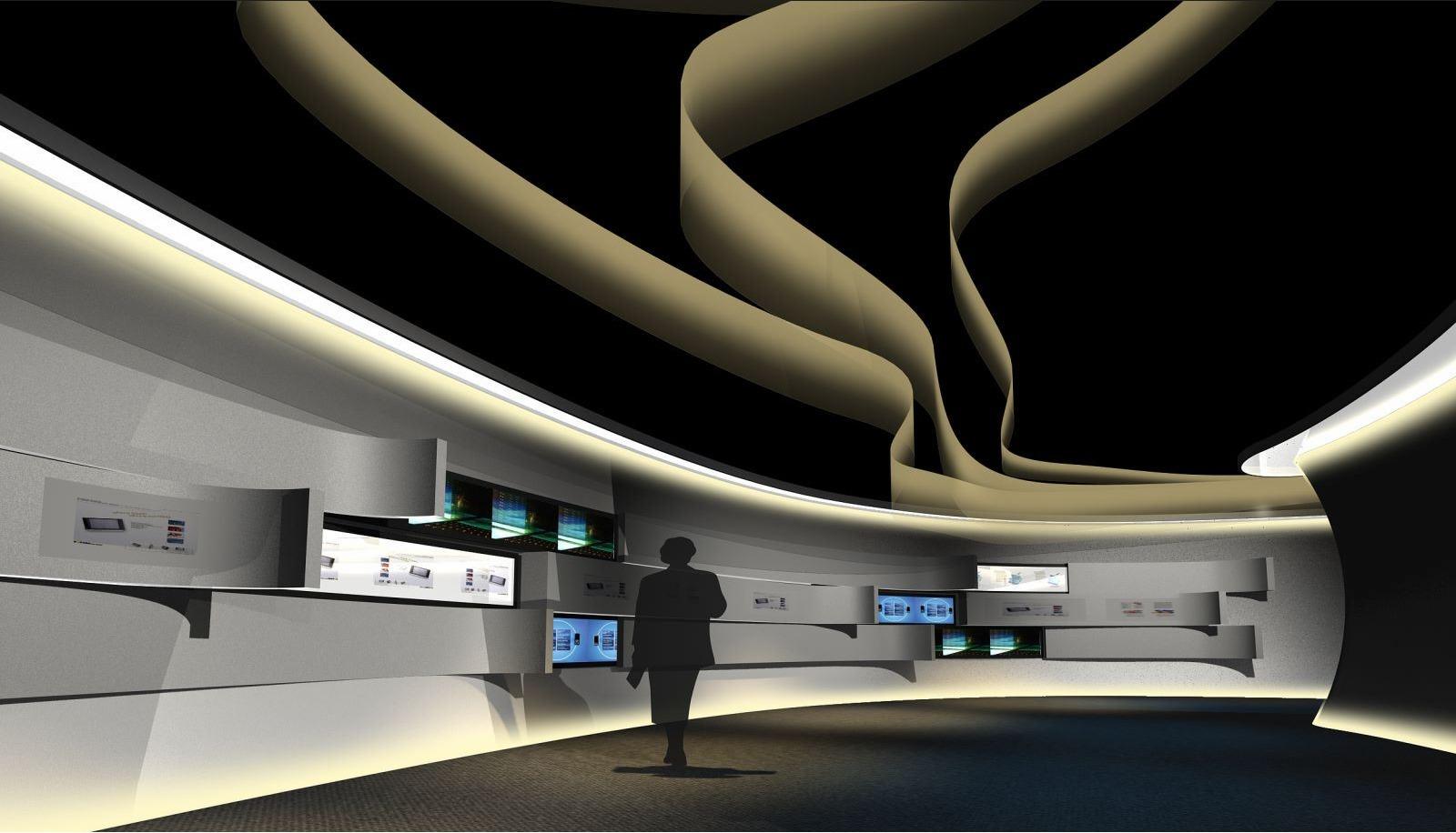 展厅设计 展厅改造 企业展厅 党群活动室 党群宣传 科技展厅