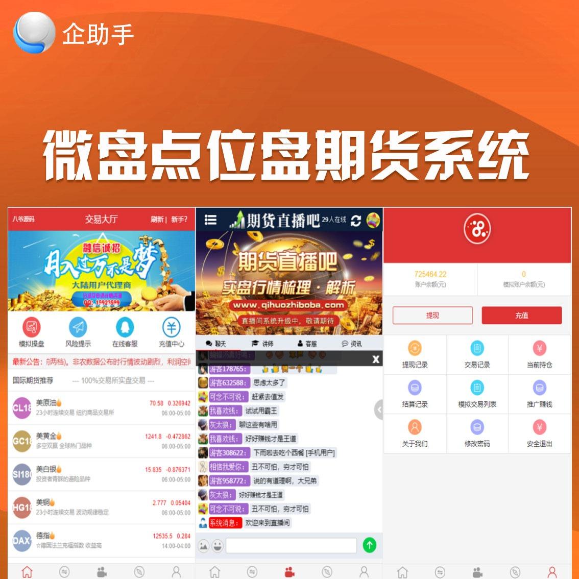 D2-2微交易富盈国际微盘点位盘yii国内国外期货盘带直播
