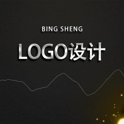 卡通logo公司企业餐饮婚礼品牌服饰商标设计婚礼LOGO设计