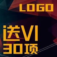 【logo设计送vi】教育医疗logo设计-图形文字logo