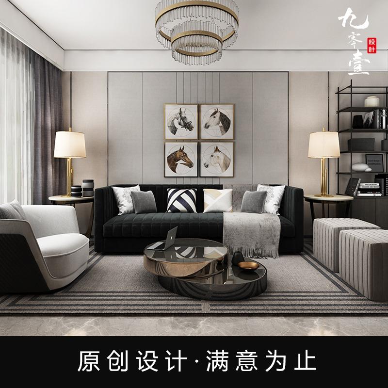 【室内设计】家装设计新房装修设计空间设计自建房别墅效果图设计