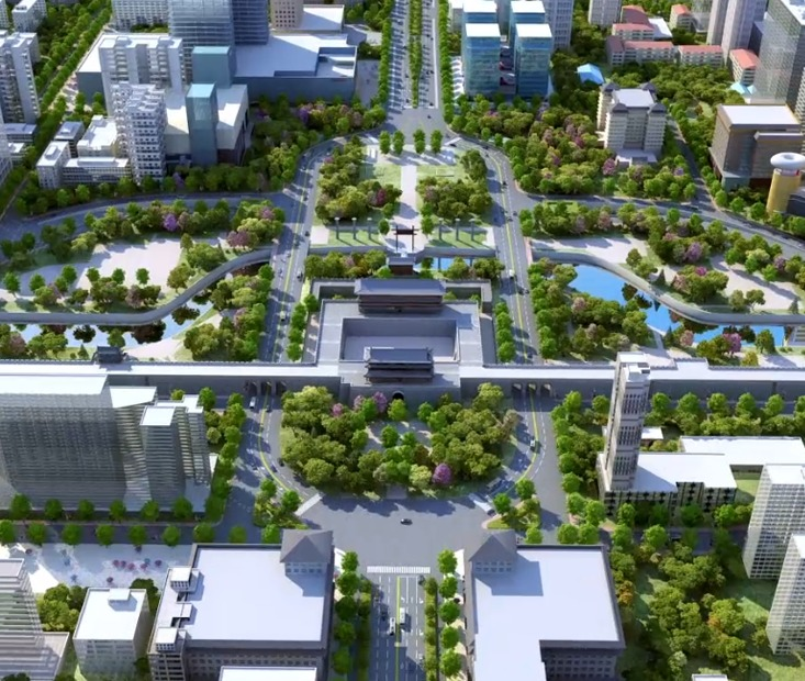 三维规划/旅游宣传规划/企业汇报/工业建筑园林3D展示视频