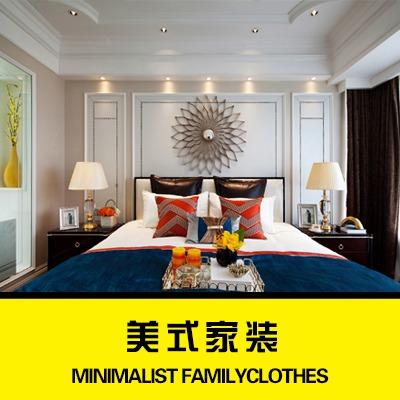 家装设计室内效果图设计别墅自建设计房新房空间装修设计施工图