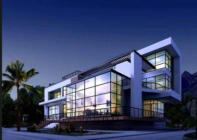 现代新农村自建房设计图纸小别墅乡村二三层半房屋施工图全套定制