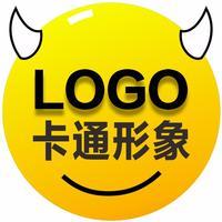 【原创卡通logo设计】餐饮卡通logo设计 IP吉祥物设计