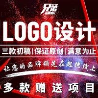 网店门店logo设计图文卡通LOGO手绘个性国际化标志标识